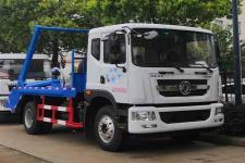 东风多利卡D9国六摆臂式垃圾车厂家现货直销