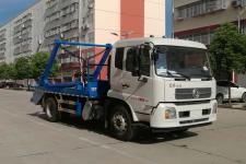 国六东风天锦摆臂式垃圾车价格