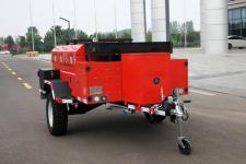 亚中车辆3.5米00.4吨1轴中置轴挂车(WPZ9012)