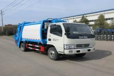 东风国六多利卡5方压缩式垃圾车 厂家直销 价格最低