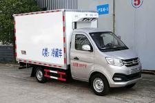 國六小長安冷藏車廠家直銷 大馬力海鮮運輸車廠家直銷13728635266