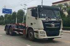 國六福田后八輪車廂可卸式垃圾車