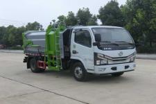 国六东风多利卡压缩式对接垃圾车