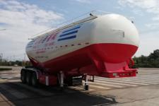 荟阳汽车9.9米31.8吨3轴中密度粉粒物料运输半挂车(HYV9401GFL)