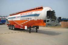 杨嘉12.3米28吨3轴低密度粉粒物料运输半挂车(LHL9400GFLA)