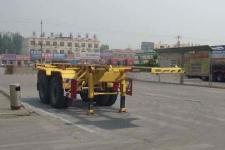 梁山东岳7米30.9吨2轴危险品罐箱骨架运输半挂车(CSQ9350TWY)