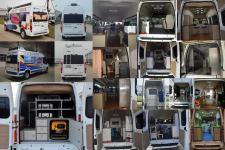 江铃全顺牌JX5049XDWMK型流动服务车图片