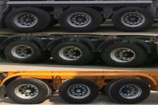 特运牌DTA9403TWY型危险品罐箱骨架运输半挂车图片
