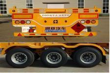 通亚达牌CTY9401TWY30型危险品罐箱骨架运输半挂车图片