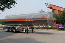 昌骅11.8米34吨3轴铝合金易燃液体罐式运输半挂车(HCH9401GRYJCA)