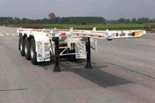 华骏8.5米35.3吨3轴危险品罐箱骨架运输半挂车(ZCZ9401TWYHJG)