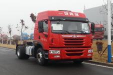 解放单桥平头柴油牵引车290马力(CA4180P1K2E5A80)