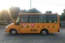 华新牌HM6570XFD5XS型小学生专用校车图片3