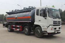 东风小三轴国五腐蚀性物品罐式运输车 厂家直销 提供挂靠公司