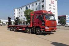 国五解放J6前四后八拉336挖机的平板拖车 厂家直销价格优惠