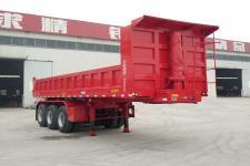 梁義8米32.2吨3轴自卸半挂车(TYK9400ZH)