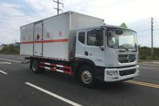 国五东风D9易燃气体厢式运输车厂家直销价格最低