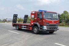 陕汽德龙 德国曼加强型车架 平板运输车厂家直销 价格最优惠