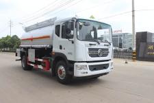 易燃液体厢式运输车厂家直销价格最便宜(SCS5181GRYEQWXP易燃液体罐式运输车)