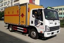 一汽解放易燃液体厢式运输车 厂家直销 价格优惠