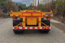 中集牌ZJV9400TJZSZA型集装箱运输半挂车图片