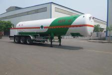 昌骅12.8米28.4吨3轴低温液体运输半挂车(HCH9401GDYE)
