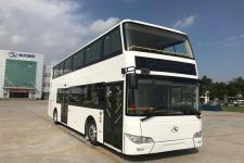 10.9米|34-63座金龙纯电动双层城市客车(XMQ6112SGBEVM)