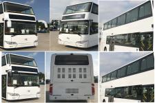 金龙牌XMQ6112SGBEVM型纯电动双层城市客车图片2
