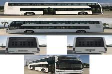 金龙牌XMQ6112SGBEVM型纯电动双层城市客车图片3