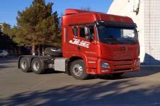 解放后双桥,后八轮平头柴油牵引车424马力(CA4250P26K2T1E6A80)