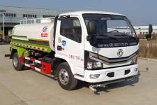 国六东风多利卡5吨洒水车价格