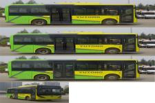 宇通牌ZK6816BEVG1型纯电动城市客车图片2