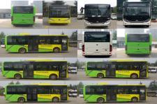 宇通牌ZK6816BEVG1型纯电动城市客车图片3