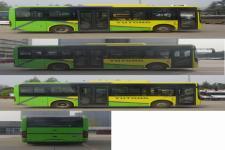 宇通牌ZK6816BEVG1型纯电动城市客车图片4