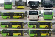 宇通牌ZK6816BEVG2型纯电动城市客车图片3