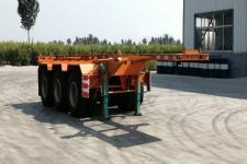 梁山平安牌TCC9400TJZ20型集装箱运输半挂车图片