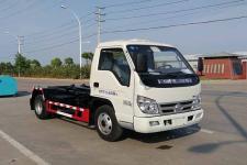 国六福田时代4方车厢可卸式垃圾车