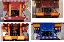 德源达牌DYV9400CCYE型仓栅式运输半挂车图片