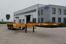 辉途骏13.9米34.2吨3轴集装箱运输半挂车(YHH9400TJZE)