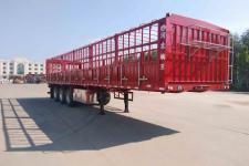 驹王11米33.9吨仓栅式运输半挂车图片