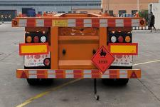 福财牌YJX9400TWY型危险品罐箱骨架运输半挂车图片