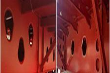 广科牌YGK9400TPBA型平板运输半挂车图片