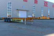 通亚达14米34.1吨3轴危险品罐箱骨架运输半挂车(CTY9401TWYE45)