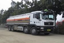 国六重汽前四后八25方易燃液体罐式运输车