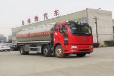 国六解放J6铝合金运油车