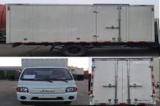 江淮牌HFC5030XXYPV4E2B3S型厢式运输车图片