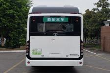 蜀都牌CDK6110CFCEV型燃料电池低入口城市客车图片2