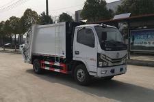 国六东风多利卡5方压缩式垃圾车