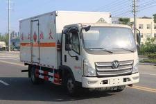 国六 福田易燃液体厢式运输车