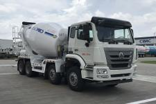 中集牌ZJV5310GJBJMZZ型混凝土搅拌运输车图片